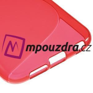 Gelové s-line pouzdro na Samsung Galaxy S6 - červené - 5