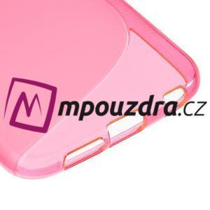 Gelové s-line pouzdro na Samsung Galaxy S6 - růžové - 5