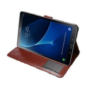 Květinové pouzdro na tablet Samsung Galaxy Tab A 10.1 (2016) - černé - 5