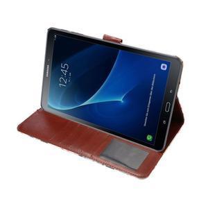 Květinové pouzdro na tablet Samsung Galaxy Tab A 10.1 (2016) - bílé - 5
