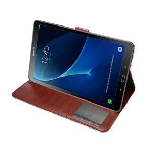 Květinové pouzdro na tablet Samsung Galaxy Tab A 10.1 (2016) - modré - 5