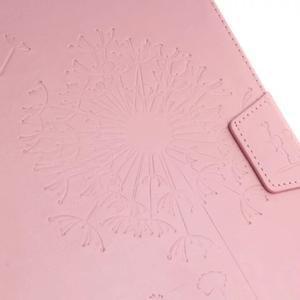 Dandelion PU kožené pouzdro na Samsung Galaxy Tab A 10.1 (2016) - růžové - 5