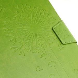 Dandelion PU kožené pouzdro na Samsung Galaxy Tab A 10.1 (2016) - zelené - 5