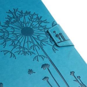 Dandelion PU kožené pouzdro na Samsung Galaxy Tab A 10.1 (2016) - modré - 5