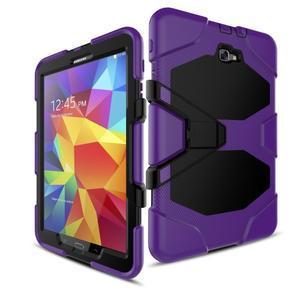 Armory 3v1 odolný obal na tablet Samsung Galaxy Tab A 10.1 (2016) - fialový - 5