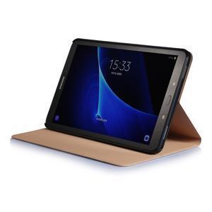 Picture polohovatelné pouzdro na Samsung Galaxy Tab A 10.1 (2016) - čtverečky - 5
