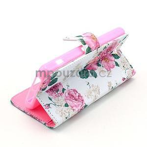 Pouzdro na mobil Sony Xperia Z1 Compact - květiny - 5