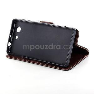Leaf peněženkové pouzdro na Sony Xperia Z3 Compact - černé - 5