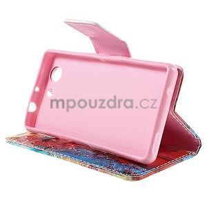 Pouzdro na mobil Sony Xperia Z3 Compact - malované pampelišky - 5
