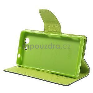 Diary peněženkové pouzdro na mobil Sony Xperia Z3 Compact - tmavěmodré - 5