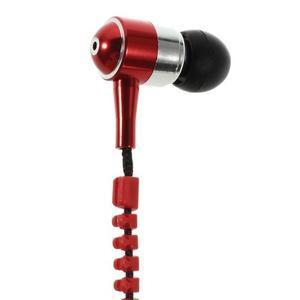 Zippy pecková sluchátka pro poslech hudby - červená - 5