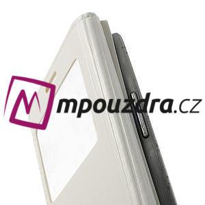 Luxusní pěněženkové pouzdro na Samsung Galaxy S3 i9300 - bílé - 5