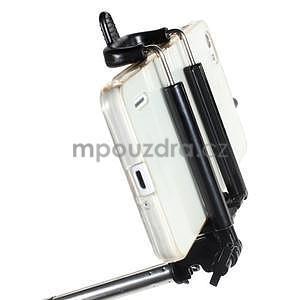 GX automatická selfie tyč se spínačem - černá - 5