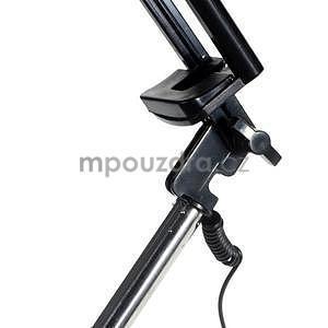 GX automatická selfie tyč se spínačem - růžová - 5