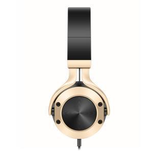 Pic9 náhlavní sluchátka s handsfree jack 3.5 mm - zlatá - 5
