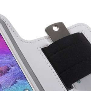 Gym běžecké pouzdro na mobil do rozměrů 153.5 x 78.6 x 8.5 mm - bílé - 5