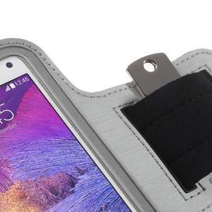 Gym běžecké pouzdro na mobil do rozměrů 153.5 x 78.6 x 8.5 mm - šedé - 5