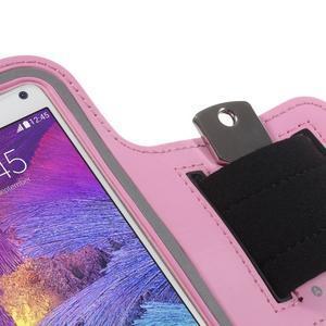 Gym běžecké pouzdro na mobil do rozměrů 153.5 x 78.6 x 8.5 mm - růžové - 5
