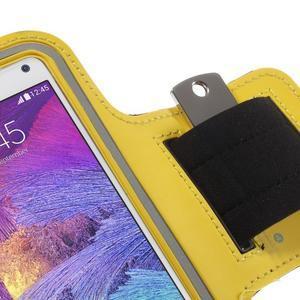 Gym běžecké pouzdro na mobil do rozměrů 153.5 x 78.6 x 8.5 mm - žluté - 5