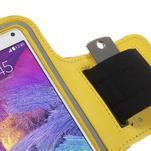 Gym běžecké pouzdro na mobil do rozměrů 153.5 x 78.6 x 8.5 mm - žluté - 5/7