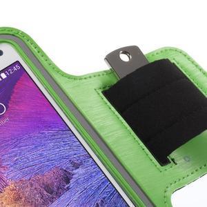 Gym běžecké pouzdro na mobil do rozměrů 153.5 x 78.6 x 8.5 mm - zelené - 5