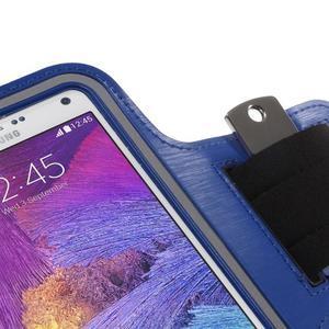 Gym běžecké pouzdro na mobil do rozměrů 153.5 x 78.6 x 8.5 mm - modré - 5