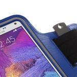 Gym běžecké pouzdro na mobil do rozměrů 153.5 x 78.6 x 8.5 mm - modré - 5/7