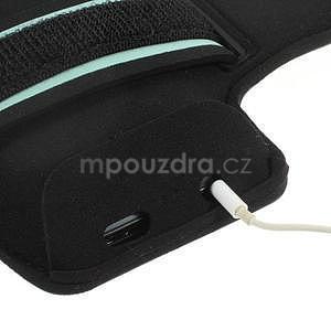 Run běžecké pouzdro na mobil do velikosti 131 x 65 mm - modré - 5