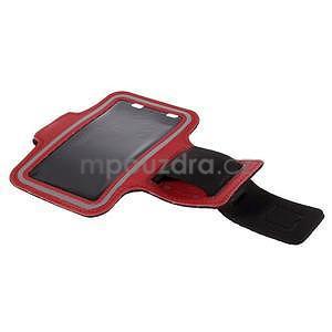 Gyms pouzdro na běhání pro mobily do 143 x 70 mm - červené - 5