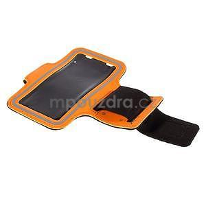 Gyms pouzdro na běhání pro mobily do 143 x 70 mm - oranžové - 5