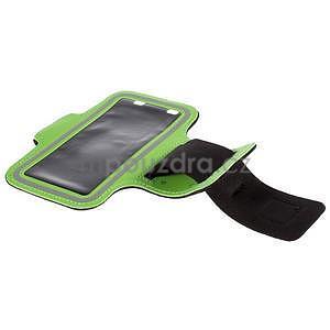 Gyms pouzdro na běhání pro mobily do 143 x 70 mm - zelené - 5