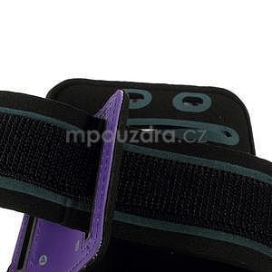 Soft pouzdro na mobil vhodné pro telefony do 160 x 85 mm - fialové - 5