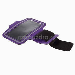Gyms pouzdro na běhání pro mobily do 143 x 70 mm - fialové - 5