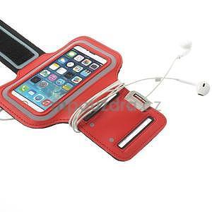 Jogy běžecké pouzdro na mobil do 125 x 60 mm - červené - 5