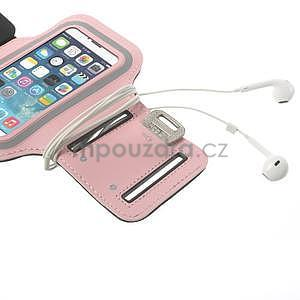Jogy běžecké pouzdro na mobil do 125 x 60 mm - růžové - 5