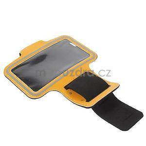Gymfit sportovní pouzdro pro telefon do 125 x 60 mm - oranžové - 5