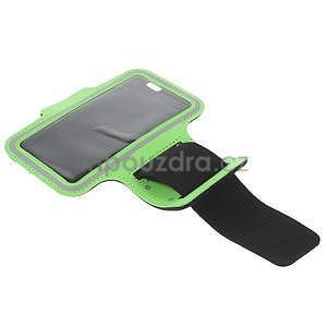 Gymfit sportovní pouzdro pro telefon do 125 x 60 mm - zelené - 5