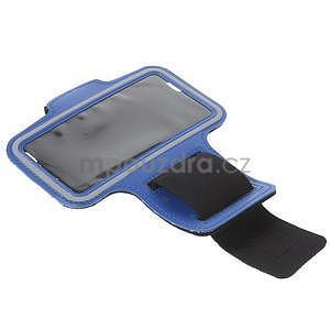 Gymfit sportovní pouzdro pro telefon do 125 x 60 mm - tmavě modré - 5