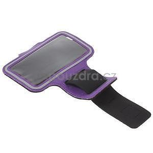 Gymfit sportovní pouzdro pro telefon do 125 x 60 mm - fialové - 5