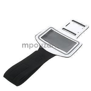 Gymfit sportovní pouzdro pro telefon do 125 x 60 mm - bílé - 5