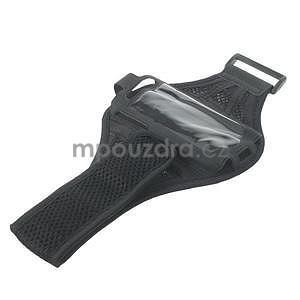 Absorb sportovní pouzdro na telefon do velikosti 125 x 60 mm - černé - 5