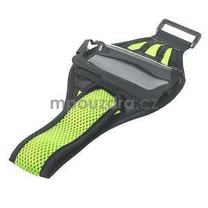 Absorb sportovní pouzdro na telefon do velikosti 125 x 60 mm - zelené - 5
