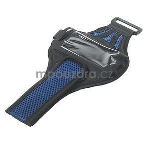 Absorb sportovní pouzdro na telefon do velikosti 125 x 60 mm - modré - 5