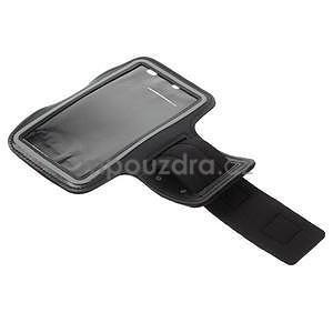 Běžecké pouzdro na ruku pro mobil do velikosti 152 x 80 mm - černé - 5