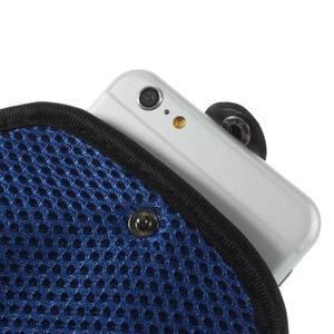 Fit pouzdro na mobil až do velikosti 160 x 85 mm - modré - 5