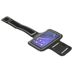 Všestranné pouzdro na ruku do rozměru telefonu 146 x 73 mm - černé - 5