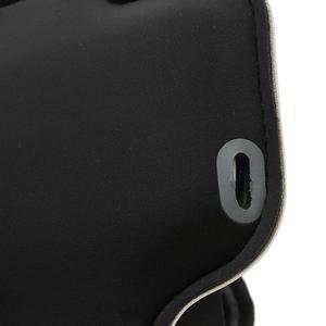 Bílé pouzdro na ruku do velikosti mobilu 125 x 61 mm - 5