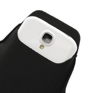 Sportovní pouzdro na ruku až do velikosti mobilu 140 x 70 mm - černé - 5