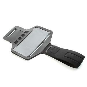 Sports Gym pouzdo na ruku pro velikost mobilu až 140 x 70 mm - černé - 5