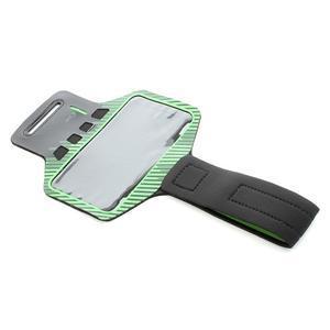 Sports Gym pouzdo na ruku pro velikost mobilu až 140 x 70 mm - zelené - 5